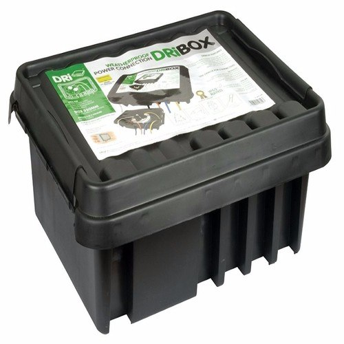 Compare cheap offers & prices of Dribox DB330B 330mm IP55 Weatherproof Connection Box - Black manufactured by Dribox