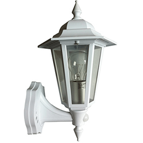 Greenbrook 42 Watt Lantern with 140º PIR  - Click to view a larger image