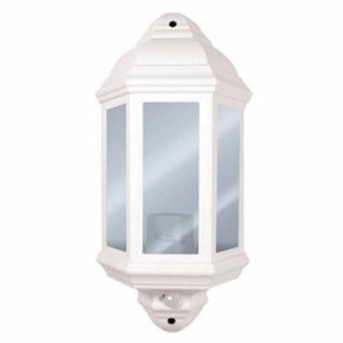 Eterna 60W Half-Lantern with PIR Sensor Eterna 60 Watt Half-Lantern with 120 PIR - Click to view a larger image