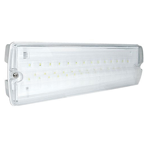 Eterna LED Bulkhead Emergency Light Fitting Non-Maintained  - Click to view a larger image