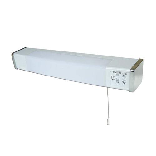 Eterna LED Dual Voltage Shaver Light Eterna LED Dual Voltage Shaver Light - Click to view a larger image