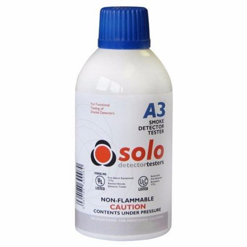 Solo A3 Smoke Detector Test Gas Canister 250ml  - Click to view a larger image
