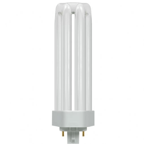 Crompton 42W CFL G24q-1 4 Pin Opal TE Type Bulb  - Click to view a larger image