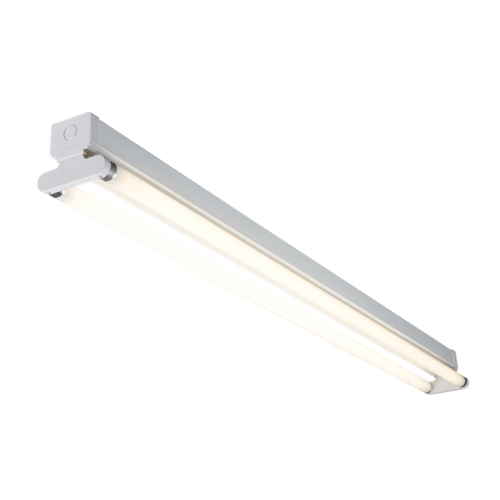 KnightsBridge Twin T8 18W High Frequency Fluorescent Batten  - Click to view a larger image