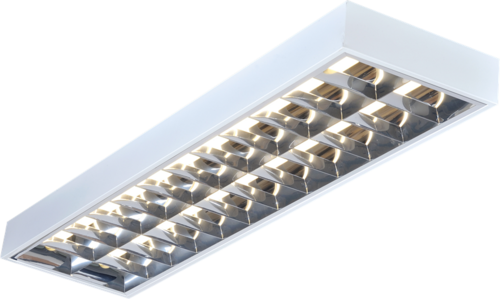 KnightsBridge 2x58W 5ft T8 Surface Mounted Fluorescent Fitting  - Click to view a larger image