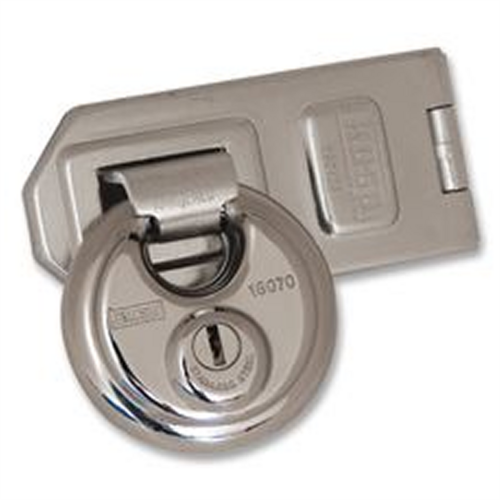 Kasp 70mm Disc Lock With Hasp and Staple