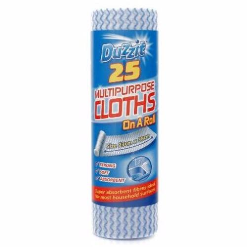 Zexum Multi-Purpose Dust Cloth Sheet Roll Multi-Purpose cloths on roll 20PK - Click to view a larger image