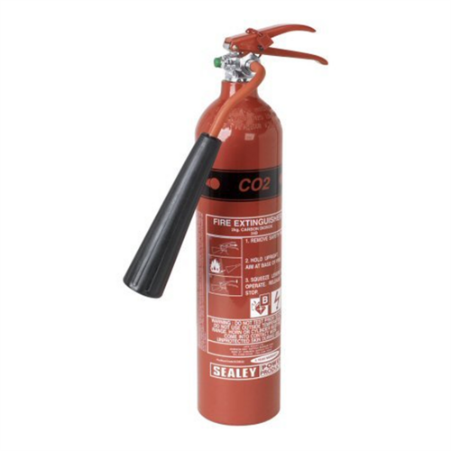 Sealey Portable Carbon Dioxide Fire Extinguisher  - Click to view a larger image