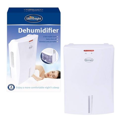 Silent Night Compact 2 Litre Personal Dehumidifier Compact 2 Litre Personal Dehumidifier - Click to view a larger image