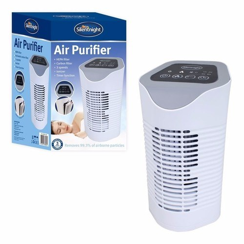 Silent Night HEPA Air Purifier Triple With Replaceable Filter  - Click to view a larger image
