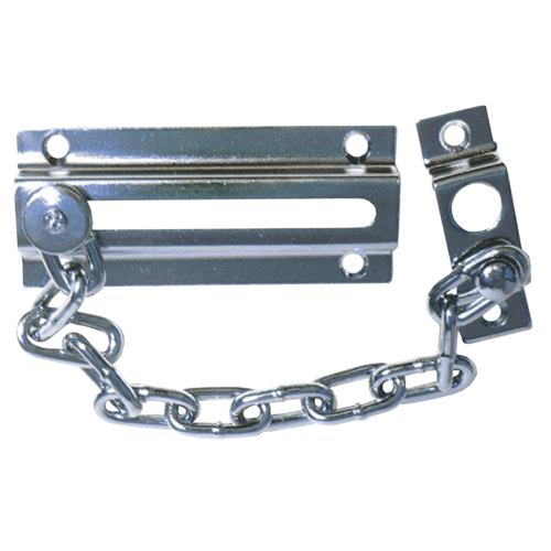 Sterling Chrome Plated Door Lock Chain  - Click to view a larger image