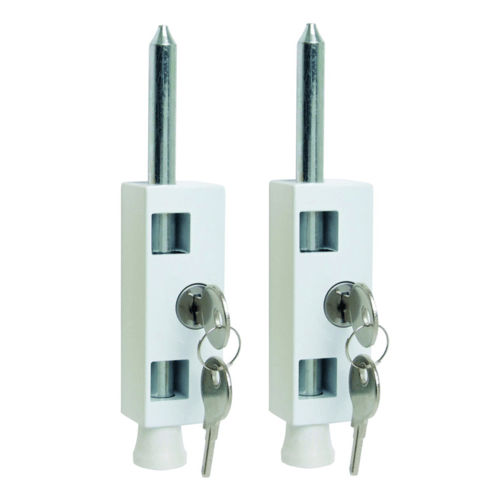 Sterling Multi-Purpose Wood & Plastic Door Bolt Twin Pack  - Click to view a larger image