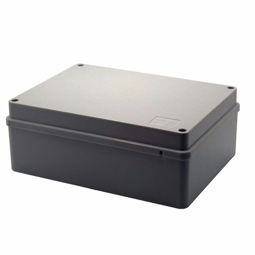 ESR 190mm Rectangle IP56 Adaptable PVC Junction Box ESR 190mm Rectangle IP56 Adaptable PVC Junction Box - Click to view a larger image