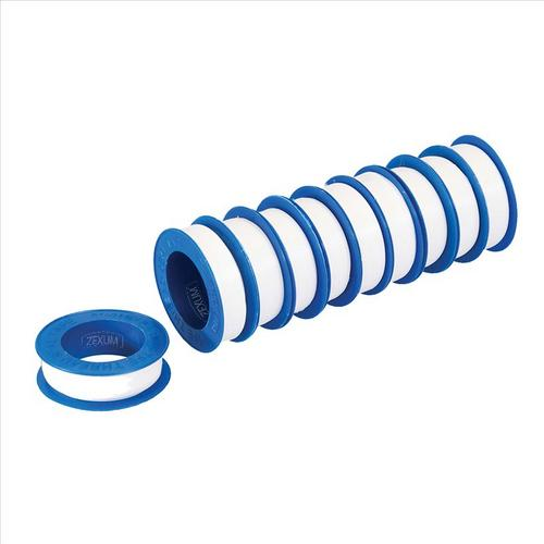 Zexum 12mm x 12mm PTFE Plumbers Pipe Sealing Tape  - Click to view a larger image
