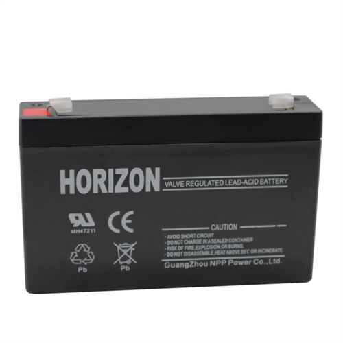 Horizon 6V 7Ah Lead Acid Alarm Battery  - Click to view a larger image