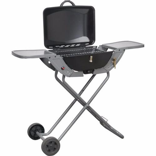 Crusader Portable Propane/Butane Folding Gas Barbecue With Wheels & Handle Crusader Portable PropaneButane Folding Gas Barbecue With Wheels  Handle - Click to view a larger image