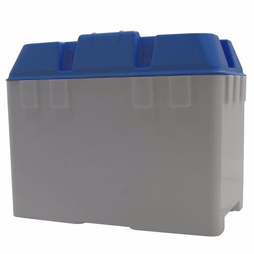 Trem Medium Battery Box With Strap (in Blue)  - Click to view a larger image