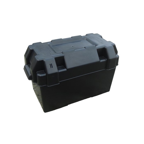 Trem Large Battery Box With Strap (in Yellow)  - Click to view a larger image