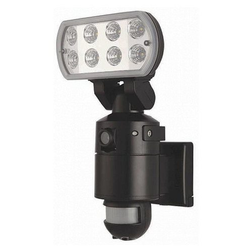 OYN-X Gatekeeper LED Security Floodlight with CCTV Camera  - Click to view a larger image