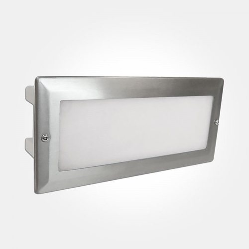 Eterna 5.4W LED Bricklight with Stainless Steel Frame Eterna BRICKLED 5.4W LED Bricklight with Stainless Steel Frame - Click to view a larger image
