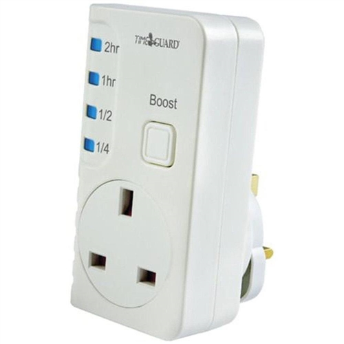 Timeguard Electronic 2 Hour Plug In Boost Timer Electronic 2 Hour Plug In Boost Timer - Click to view a larger image