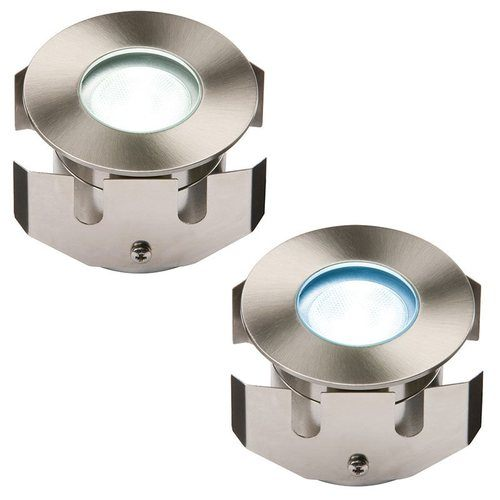 KnightsBridge 1W LED LV Stainless Steel Decking Light 1W LED LV Stainless Steel Decking Light - Click to view a larger image