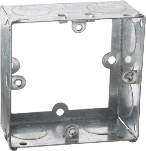 KnightsBridge 1G 35mm Galvanised Extension Back Box KnightsBridge 1G 35mm Galvanised Extension Back Box - Click to view a larger image
