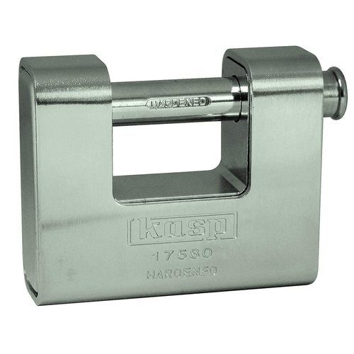 Kasp 80mm Armoured Shutter Lock Kasp 80mm Armoured Shutter Lock - Click to view a larger image