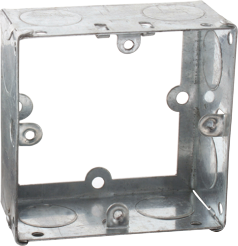Compare prices for Greenbrook 1G 35mm Galvanised Extension Back Box