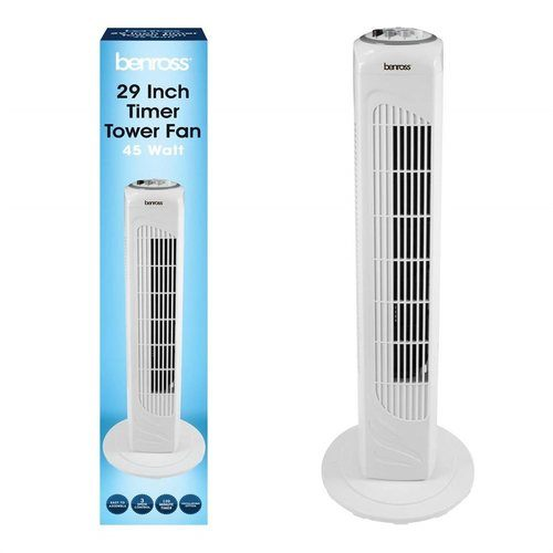 "Benross 29"" Tower Fan with Timer   - Click to view a larger image"