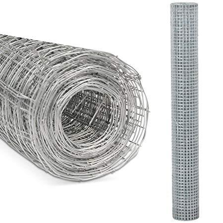 Kingfisher Square Mesh Wire Netting 90cm x 4m Kingfisher Square Mesh Wire Netting 90cm x 4m
