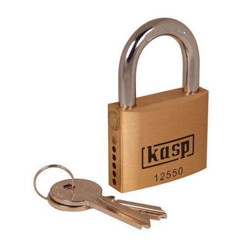 Kasp Premium Brass Padlock Semi Assembled - 50mm Kasp Premium Brass Padlock Semi Assembled - 50mm - Click to view a larger image