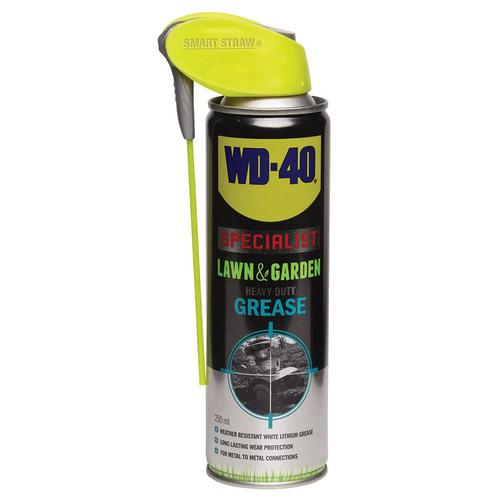 WD40 Lawn & Garden Heavy Duty Grease - 250ml Smart Straw WD-40 Lawn  Garden Heavy Duty Grease - 250ml Smart Straw - Multi Purpose - Click to view a larger image