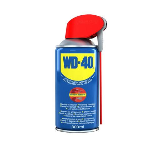 WD40 Multi Purpose Lubricant - 300ml Smart Straw WD-40 Multi Purpose Lubricant - 300ml Smart Straw - Click to view a larger image