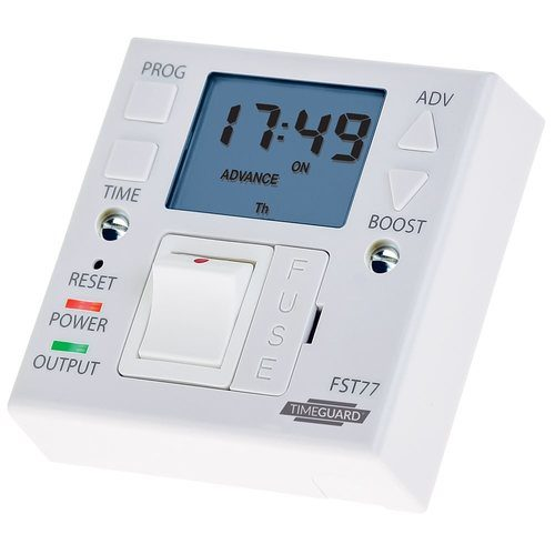 Timeguard 7 Day Fused Spur Timeswitch Timeguard 7 Day Fused Spur Timeswitch - Click to view a larger image