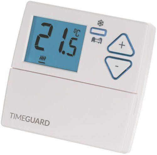 Timeguard Digital Room Thermostat with Night Set Back Timeguard Digital Room Thermostat with Night Set Back - Click to view a larger image