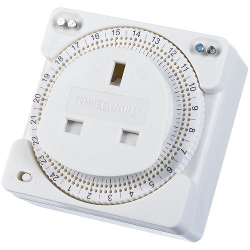 Timeguard 24 Hour Compact Plug-In Time Controller Timeguard 24 Hour Compact Plug-In Time Controller - Click to view a larger image