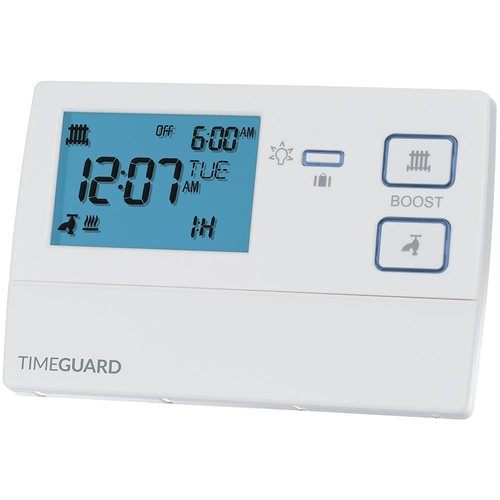 Timeguard 7 Day Digital Heating Programmer Timer - 2 Channel Timeguard 7 Day Digital Heating Programmer Timer - 2 Channel - Click to view a larger image