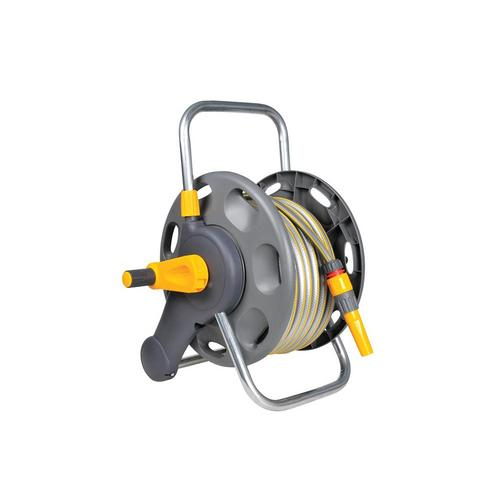 Hozelock 60m 2 in 1 Hose Reel with 50m Hose Hozelock 60m 2 in 1 Hose Reel with 50m Hose - Click to view a larger image