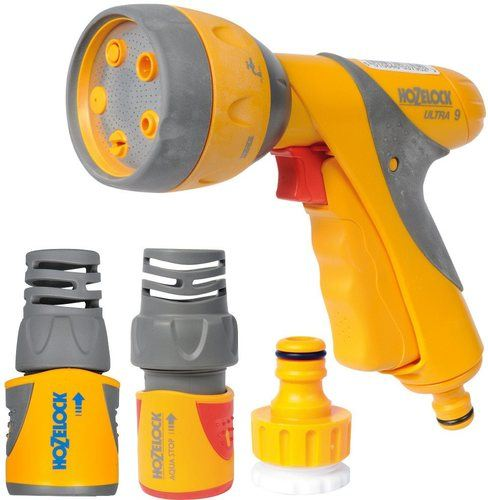 Hozelock Multi Spray Gun Plus Starter Set Hozelock Multi Spray Gun Plus Starter Set - Click to view a larger image