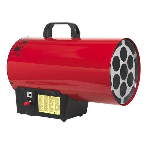 Sealey 54,500 Btu/hr Space Warmer Propane Heater , - Click to view a larger image