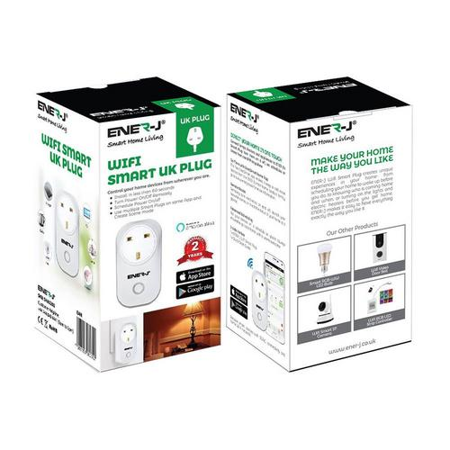 Ener-J Wifi Smart Plug Ener-J Wifi Smart Plug - Click to view a larger image