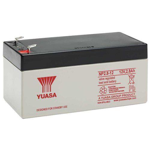Yuasa 12V 2.8Ah Sealed Lead Acid Battery Yuasa NP2.8-12 12V 2.8Ah Sealed Lead Acid Battery - Click to view a larger image
