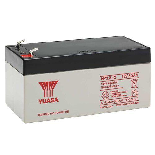 Yuasa 12V 3.2Ah Sealed Lead Acid Battery Yuasa NP3.2-12 12V 3.2Ah Sealed Lead Acid Battery - Click to view a larger image