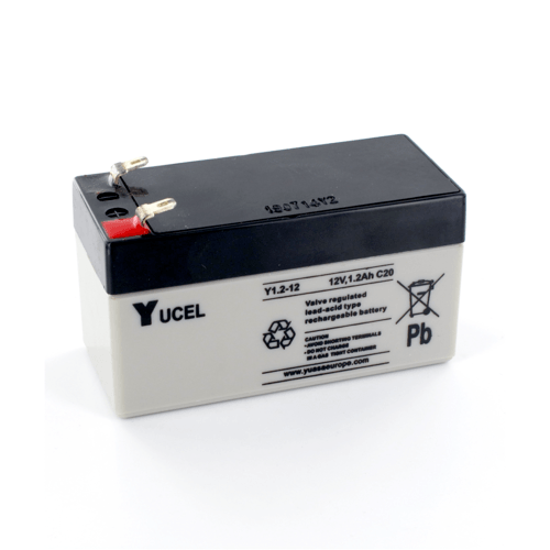 Yucel 12V 1.2Ah Sealed Lead Acid Battery Yucel Y1.2-12 12V 1.2Ah Sealed Lead Acid Battery - Click to view a larger image