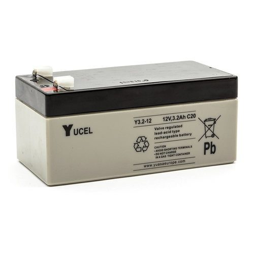 Yucel 12V 3.2Ah Sealed Lead Acid Battery  - Click to view a larger image