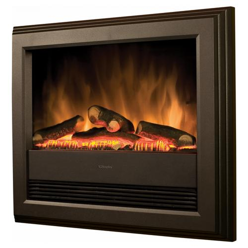 Dimplex Bach Wall Mounted Electric Fire in Black Dimplex Bach Wall Mounted Electric Fire in Black - Click to view a larger image