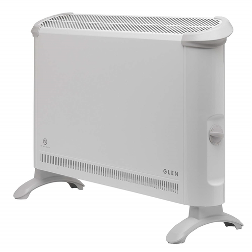 Glen 2kW Electric Convector Heater with Thermostat Glen 2kW Electric Convector Heater with Thermostat - Click to view a larger image