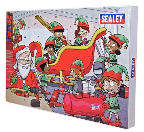 Sealey Christmas Tool Advent Calendar Sealey Christmas Tool Advent Calendar - Click to view a larger image