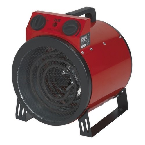 Sealey 2kW Industrial Fan Heater  - Click to view a larger image